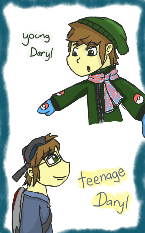 (Pokemon) Modest Love: Daryl by JabuJabule