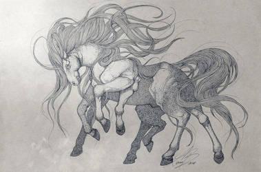 Sleipnir by Karoughh