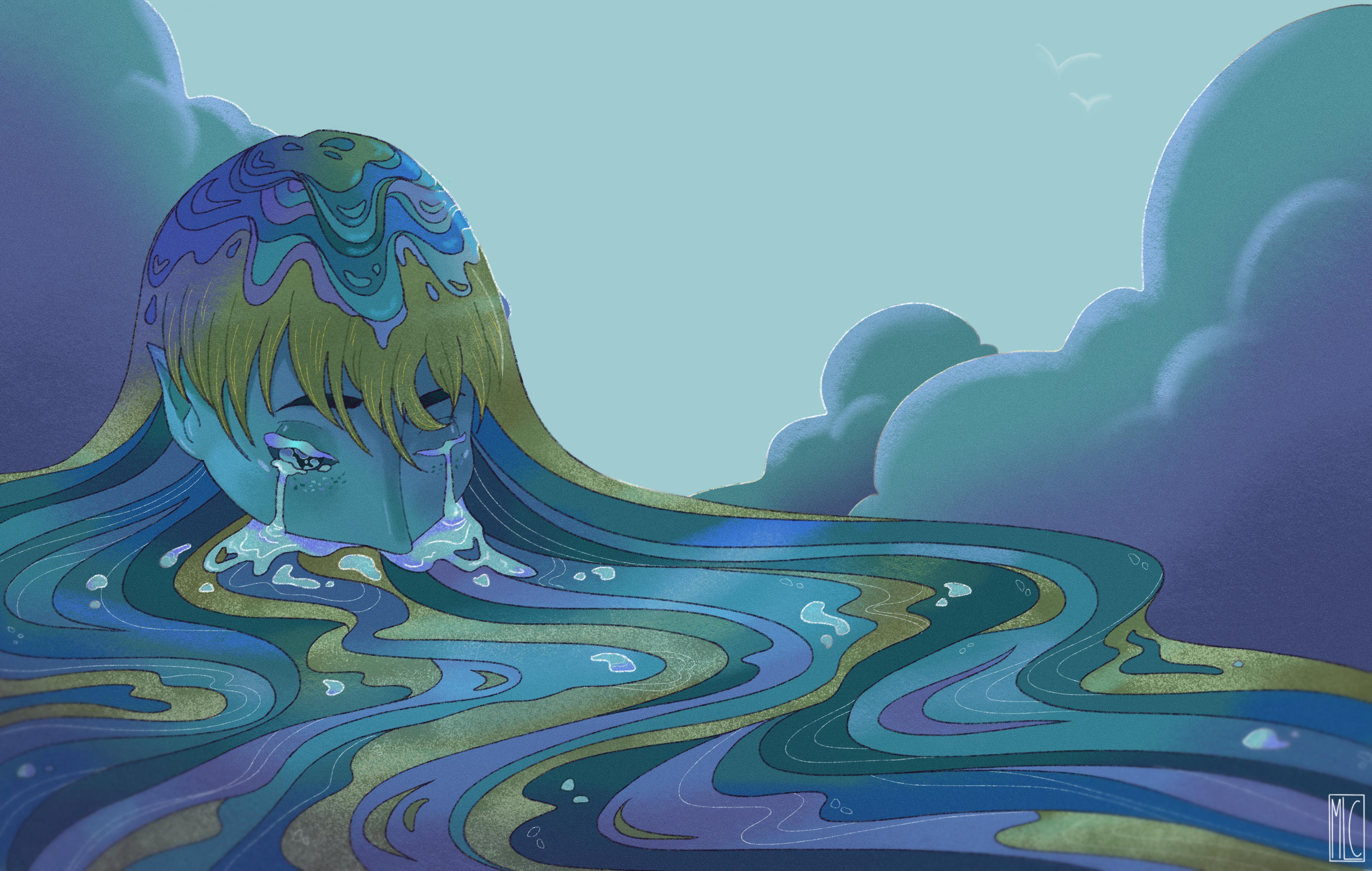 She who created the sea