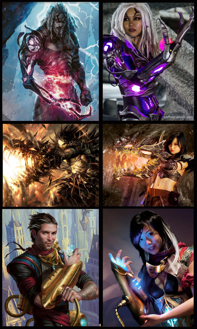 MtG genderswapped planeswalkers by melell on DeviantArt