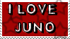 I Love JUNO stamp by JE-MANGE-LES-ENFANTS
