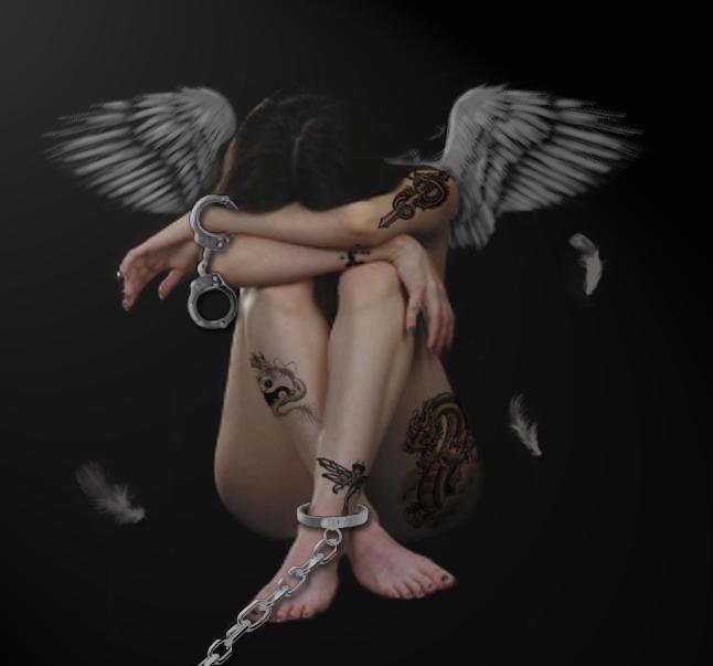 Angels in bondage