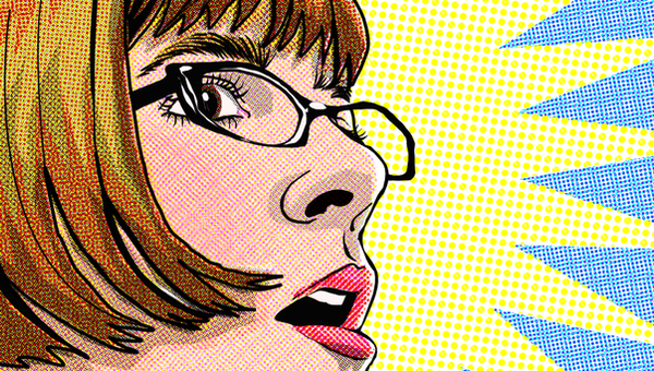 SVG- Super Vector Girl by QuicheLoraine