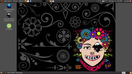 Current desktop by QuicheLoraine
