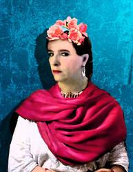 Loraine ala Frida Kahlo by QuicheLoraine