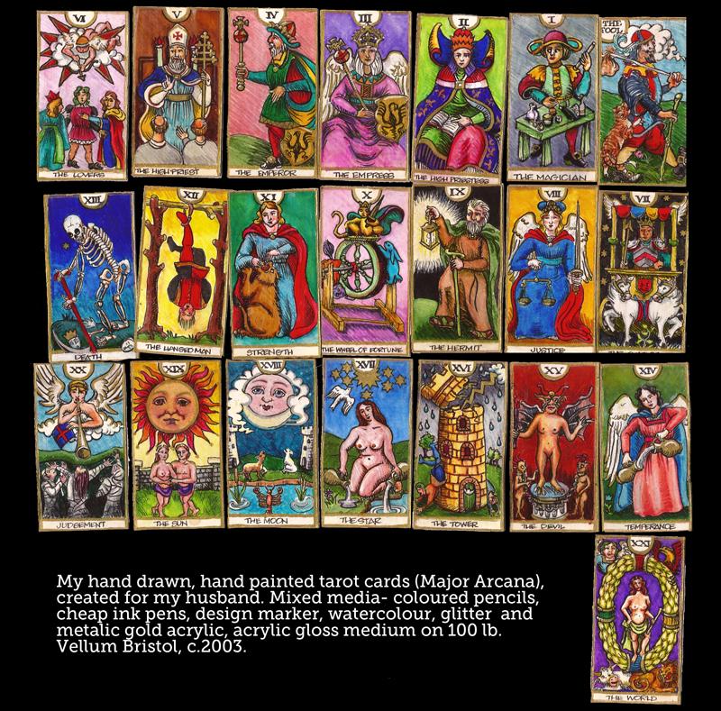 Handmade Tarot by QuicheLoraine