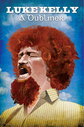 Luke Kelly, A Dubliner by QuicheLoraine
