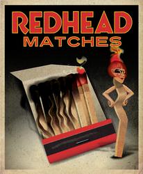 Redhead Matches2 by QuicheLoraine