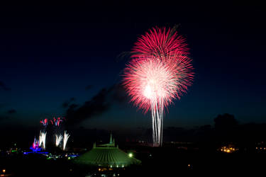 Disney Fireworks - 02 by MrScruffy