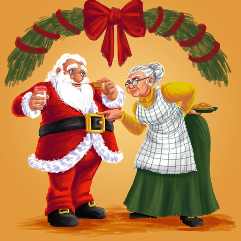 Christmas card by sirida