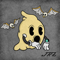 Fat ghost by Valafrous