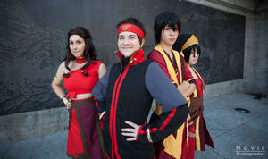 Avatar the Last Airbender - The Gaang by GreenTea-Cosplay