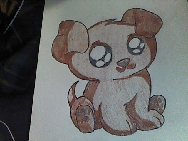 Requested drawing Cute Puppy by TheMarksmen on DeviantArt
