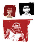 TMNT marker sketches by drnlds