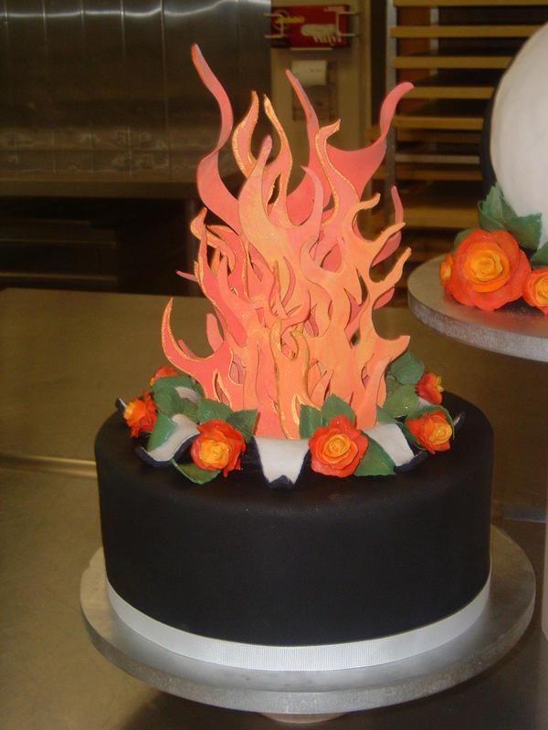 Yin Yang Cake Decoration