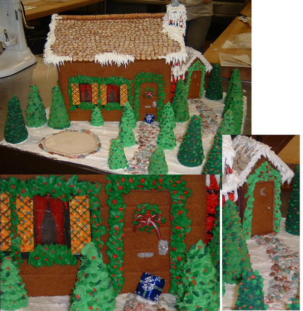 Gingerbread House Arts And Crafts