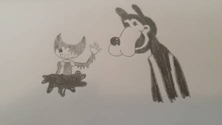 Bendy and the Ink Machine Art