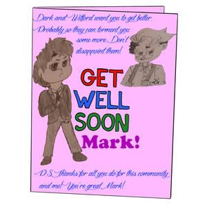 Get Well Mark!