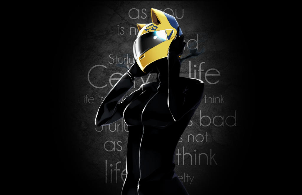 Celty by CaptainLaser