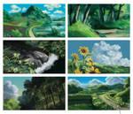 Ghibli Studio Study