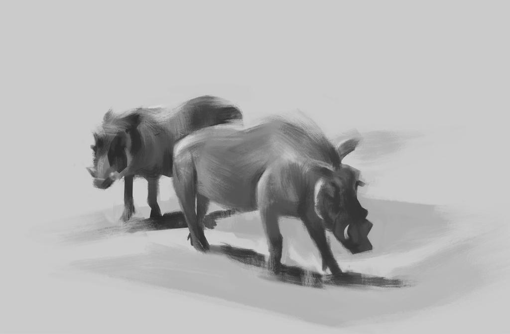 Hogs Value Sketch