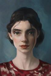 Portrait Study by UntoldPromises