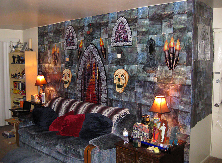 Halloween Decor Interior 1 by EVysther