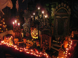 Halloween Decor Interior 3 by EVysther