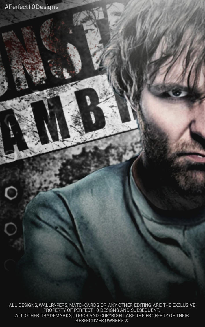 Dean Ambrose Wallpaper By Perfect10Designs