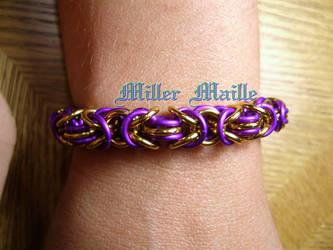 Byzantine Bracelet by the-un4given-1