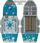 Jersey class 10,000 ton Prison Barge