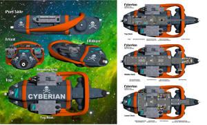 Cyberian Deck Plans