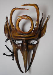 Goblin King leather Mask by Shadows-Ink