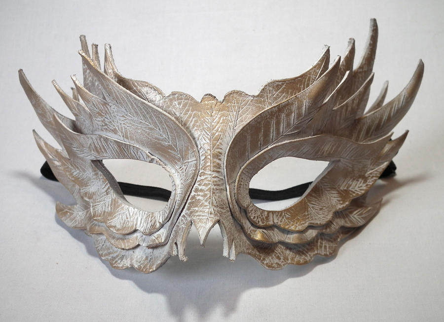 White Feather Mask by Shadows-Ink on DeviantArt