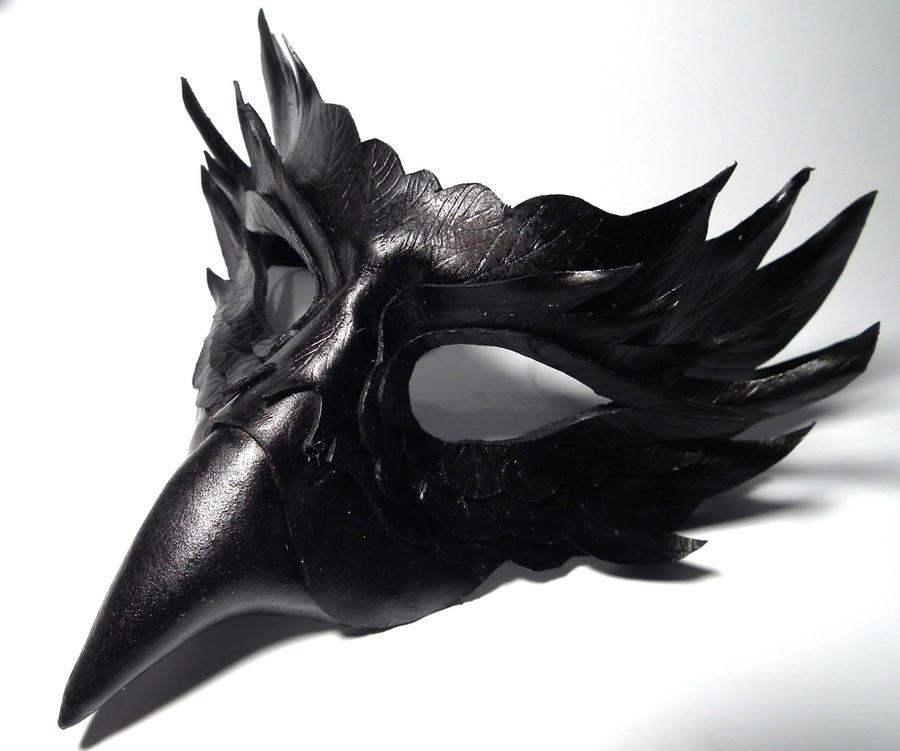 sloth mask template - raven mask template