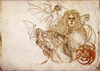 Daenerys Targaryen by x-gogole-x