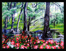 Sundust Forest by PassionatePurple