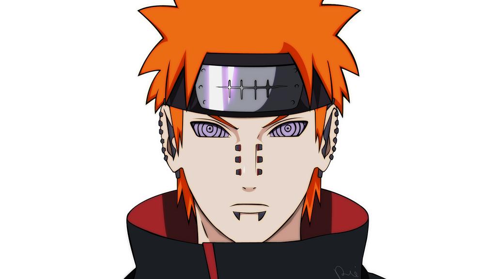 Naruto Shippuden - Pain Fanart by RoniYerushalmi on DeviantArt  Naruto Shippude...