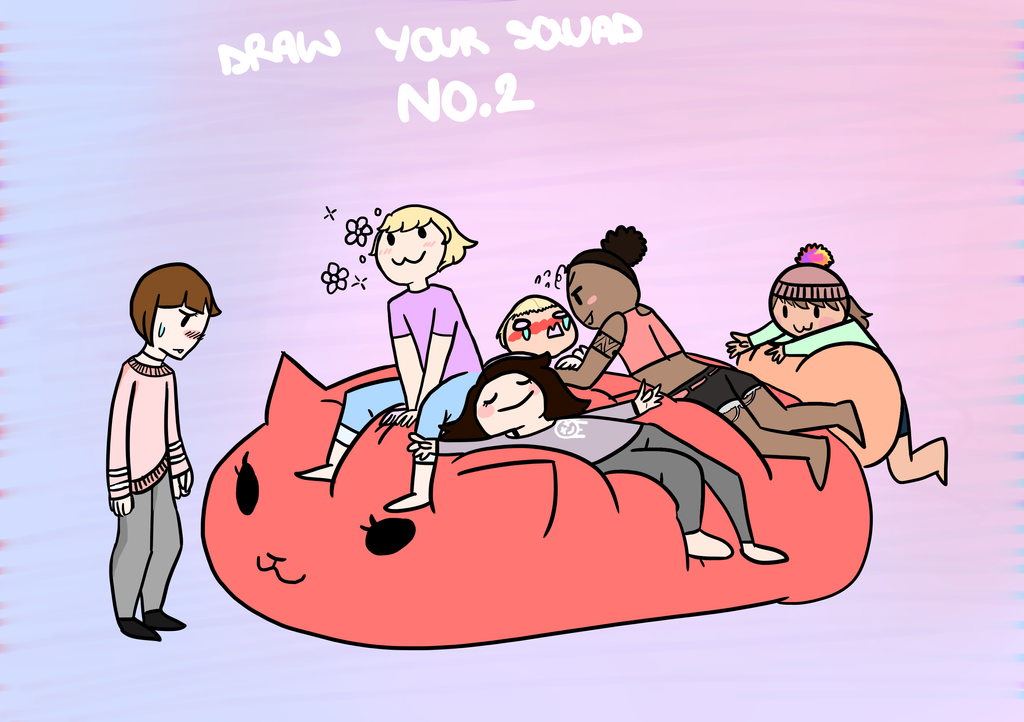Draw Your Squad NO.2 by PastelCloudKitten