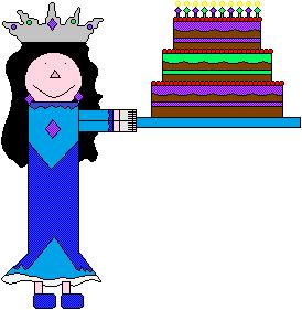 Azura's Birthday Cake by SarahVilela