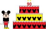 Mickey's 90th birthday! by SarahVilela