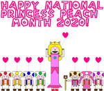Happy National Princess Peach Month 2020!