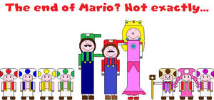 The end of Mario? Not exactly...
