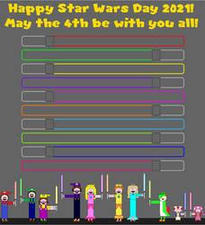 Happy Star Wars Day 2021! by SarahVilela