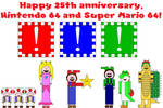 Happy 25th anniversary, N64 and SM64!