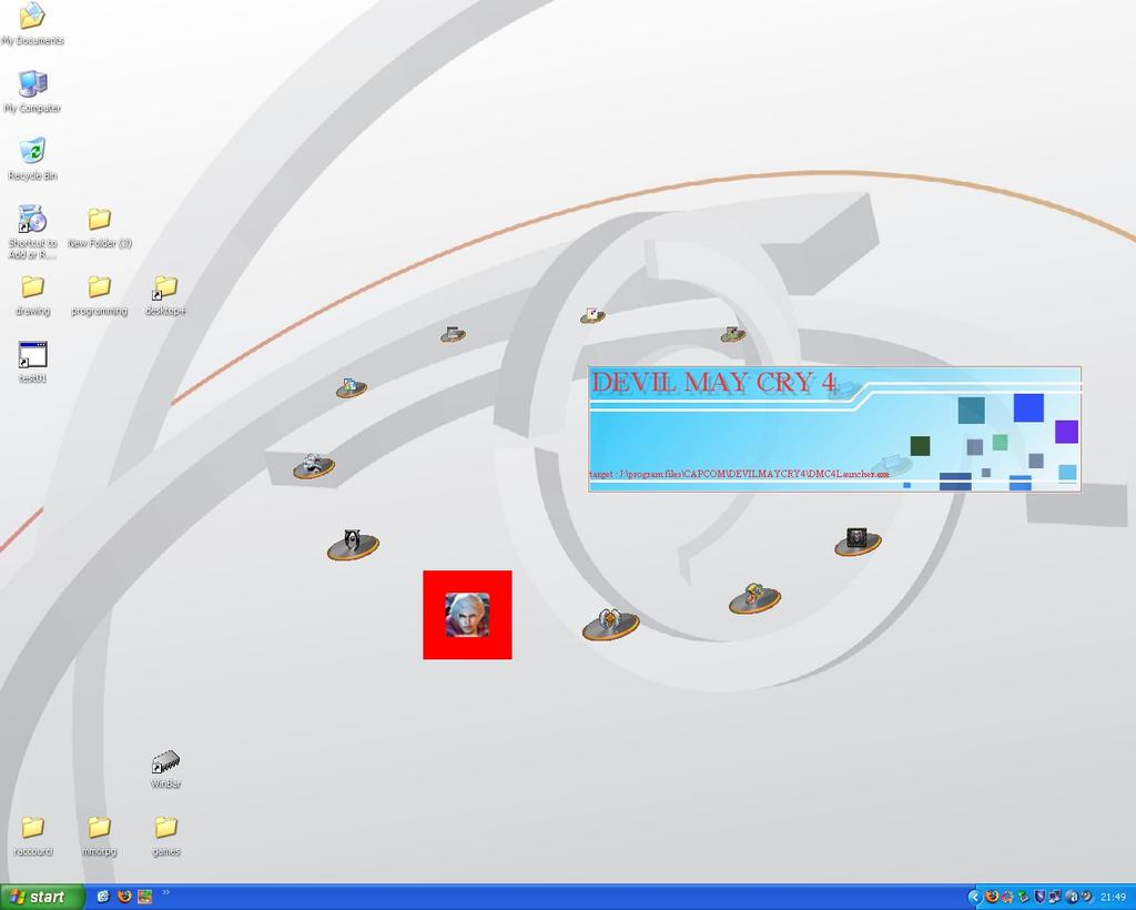 altimit Mine+launcherApp on XP by ShadowLightGenesis