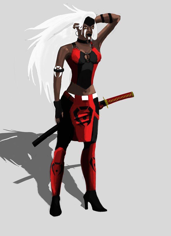 MKSM - Silver Demon, Jataaka Redesigned by eddywang