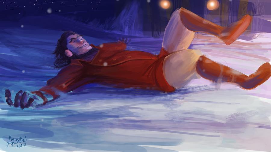 He's a snowbender by Zekfir