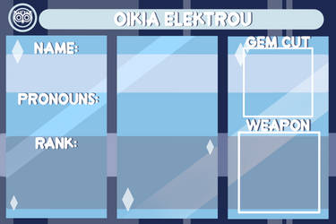 Oikia Elektrou Application: Blue Area by Atanapotinija