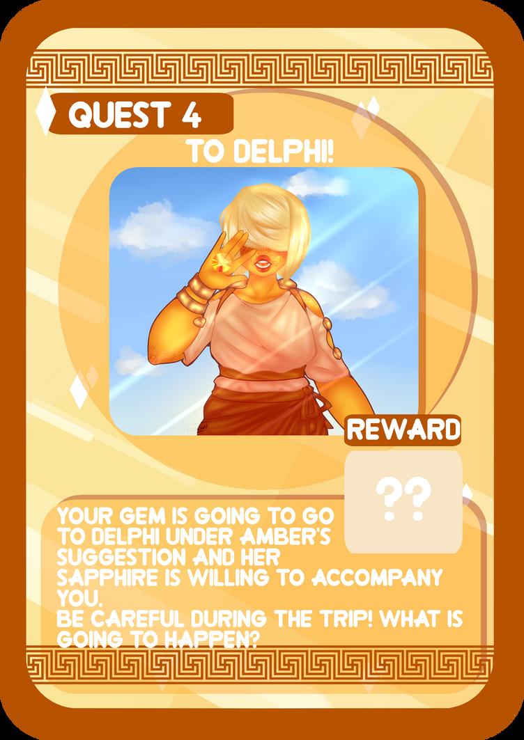 Oikia Elektrou Quest 4: To Delphi! by Atanapotinija